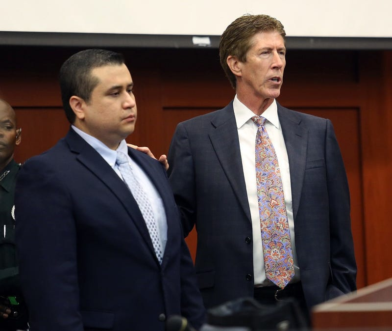 George Zimmerman's Lawyer Quits Following Domestic Incident