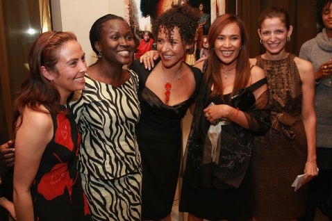 Glamour Throws A Party For Mariane Pearl, Sex Slaves