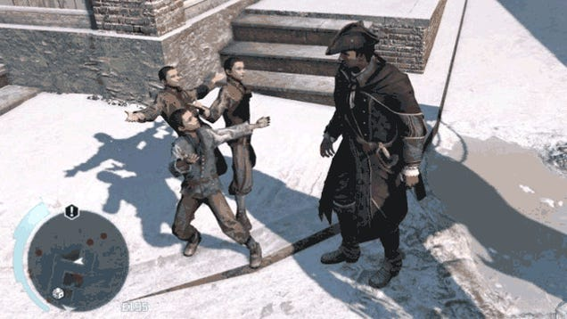 Save Me From Assassin's Creed III's Nightmarish Hell-Children