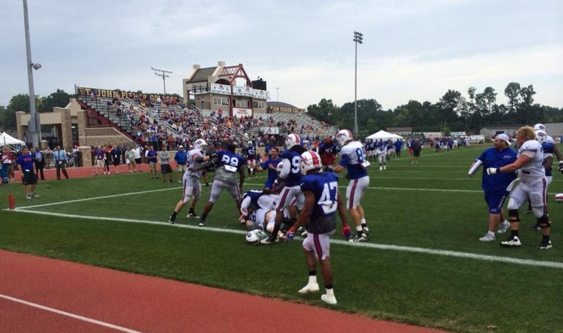 Bills Halt Practice After Second Straight Day Of Fights