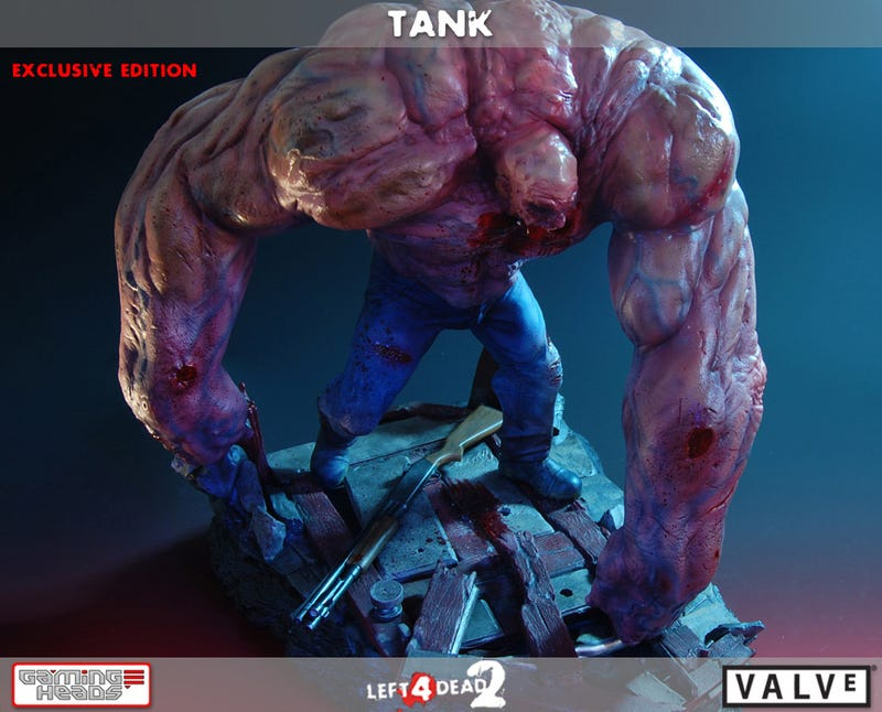 Three Hundred Dollars' Worth Of Left 4 Dead 2 Tank