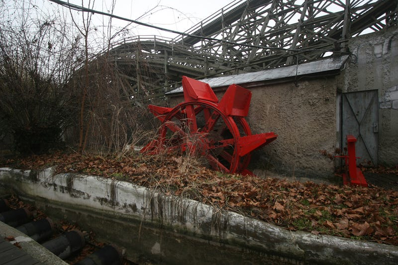 Inside the Ghostly Remains of Budapest's Condemned Amusement Park