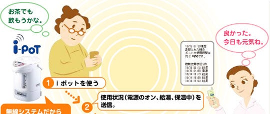 Zojirushi Appliances Text You to Keep Grandma From Burning Down the House