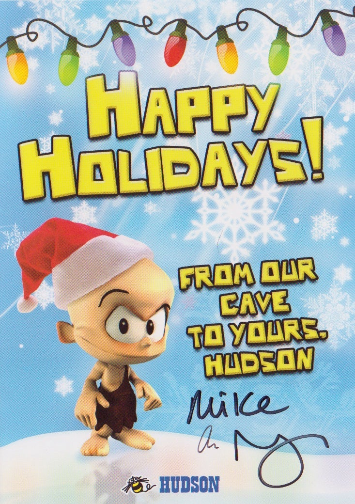 Happy Holiday's From Hudson's Cave to Yours