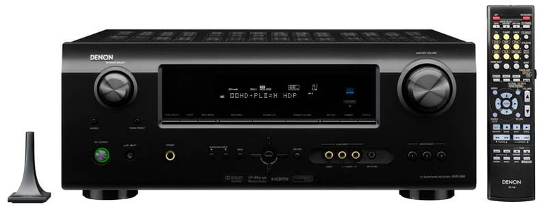 Denon's Latest Receiver Line Starts at $350, Loves iPods and HDMI