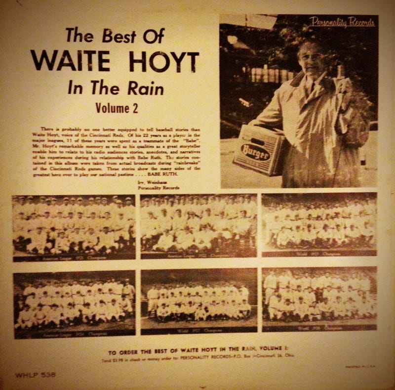 Audio: Waite Hoyt Telling Cool Old Babe Ruth Stories During Rain Delays