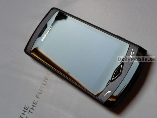 Live Photos and Specifications of the Samsung S8500 Wave Emerge