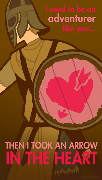 Skyrim Valentines Day Cards Remove the Need for Bards