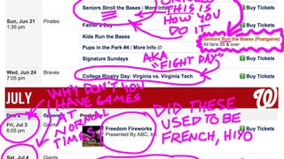 A Gently Annotated List Of Washington Nationals Promos And Giveaways