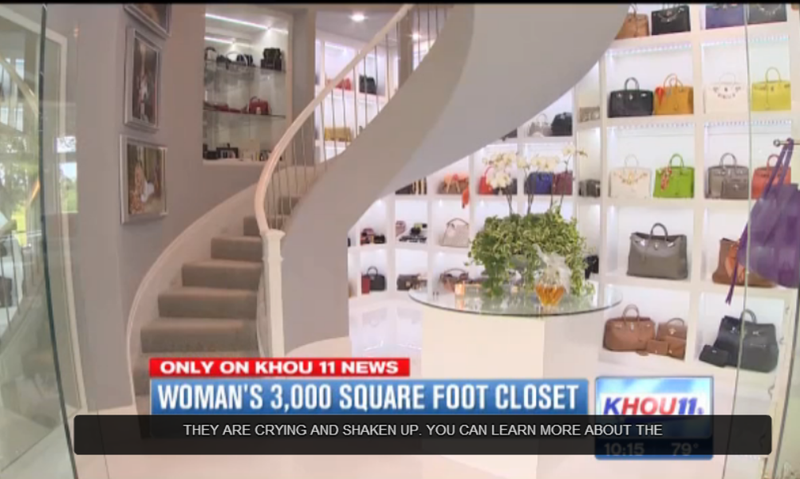 Texas Woman Calls Her Three-Story Closet a Female Man Cave