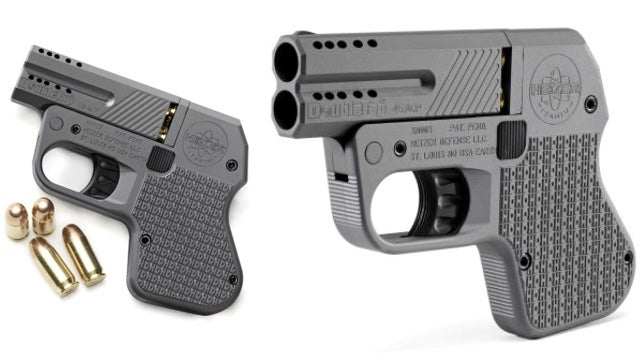 World's Smallest .45 Caliber Pistol Looks Easier To Pocket Than the Galaxy Note