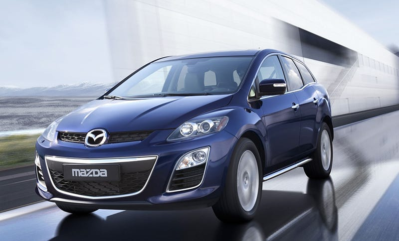 2010 Mazda CX-7: Now With A More Nagare-Like Chin