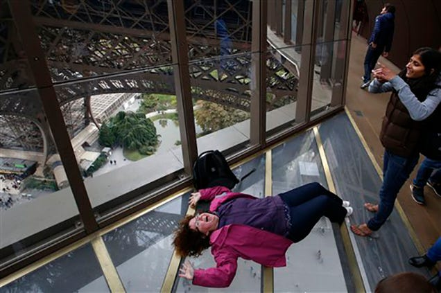 The Eiffel Tower Is The Latest Landmark To Get A Glass Floor