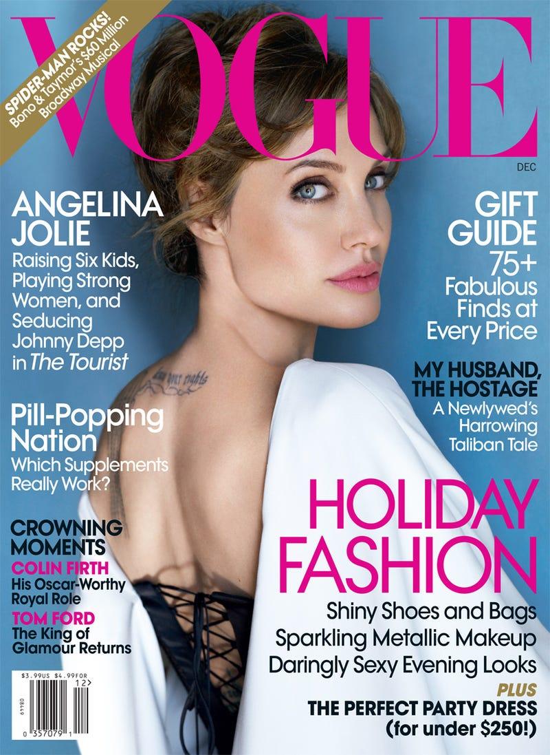 Angelina Jolie Laughs Like This: 'Uh-huh-huh-heh-heh-heh'