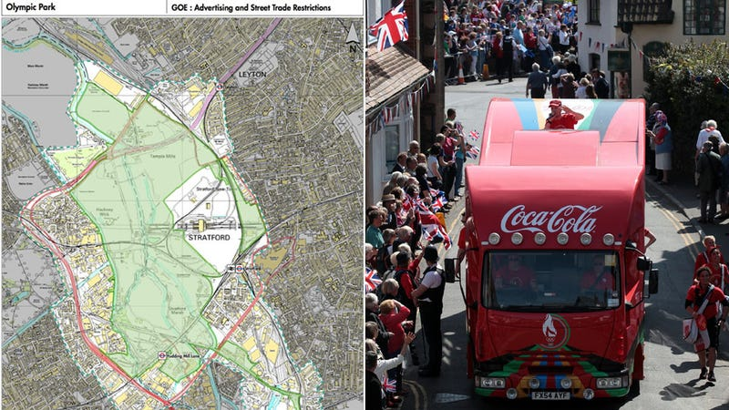 Behold the London Olympics' Creepy 'Brand Exclusion Zone'