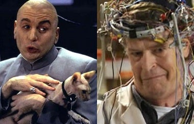 io9 Mad Scientist Smackdown: Walter Bishop faces Doctor Evil!