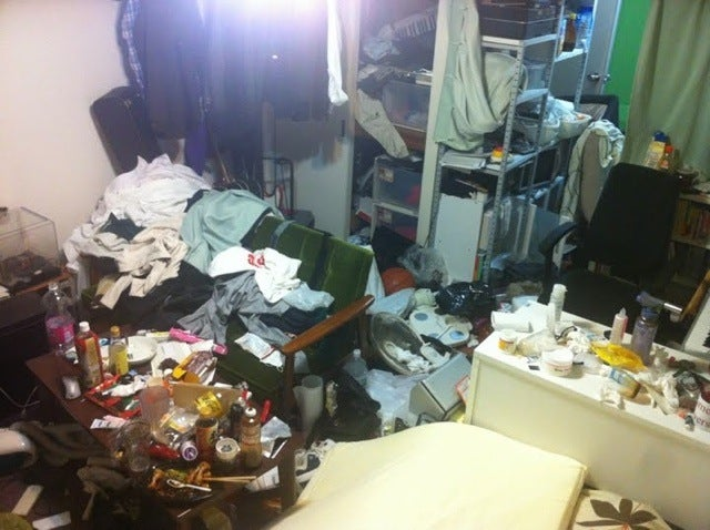 Behold, Some of Japan's Dirtiest Rooms