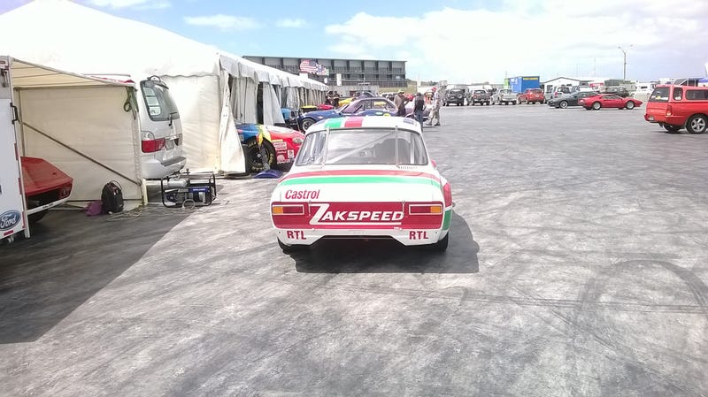 Ferrari Festival of Motor Racing, Day 1