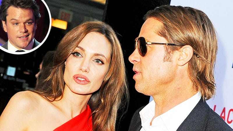 Brangelina 'Are Like Prisoners,' Says Matt Damon