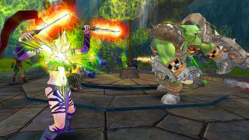 Warhammer Online: Wrath of Heroes is a New 6v6v6 Game, Free to PC this Fall