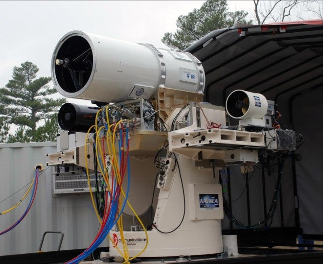 The Navy Wants to Kill Drones With This Ginormous Laser Gun