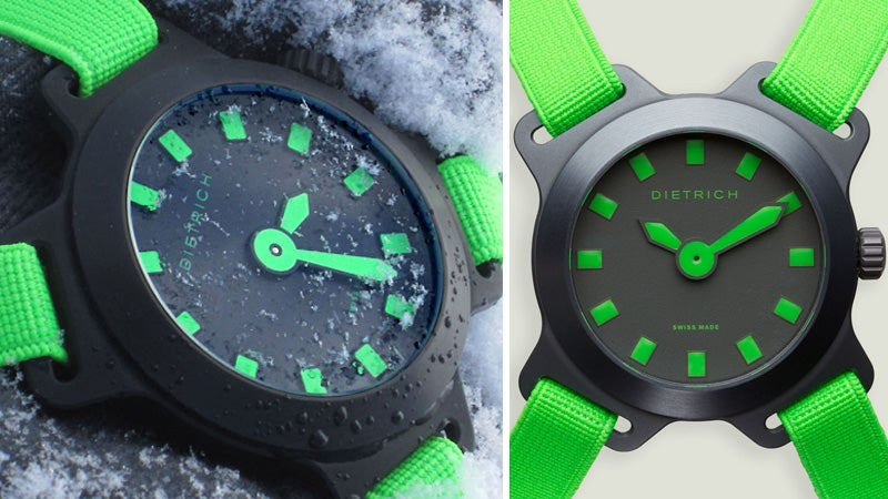 An Extra Strap Lets This Watch Fit Around Your Winter Gear