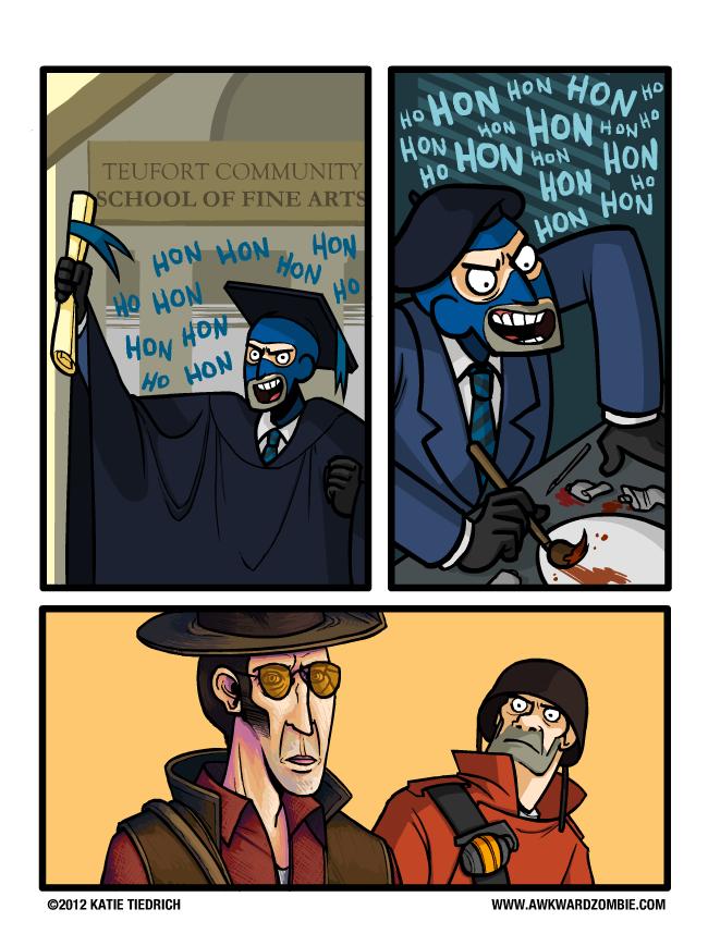 Sunday Comics: Honoris Causa