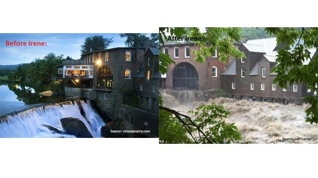 Before and After Pictures of Hurricane Irene Are Stunning and Sad