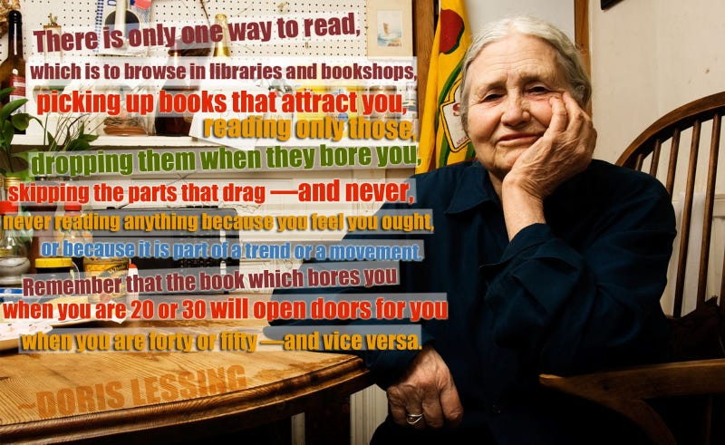 ​RIP Doris Lessing, one of science fiction's most indispensible authors