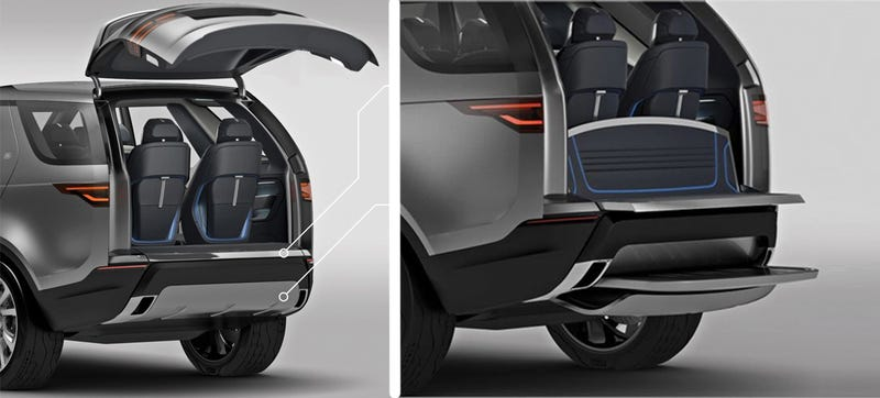 Forget The Lasers, Tailgate Seating Is The SUV Option I Want