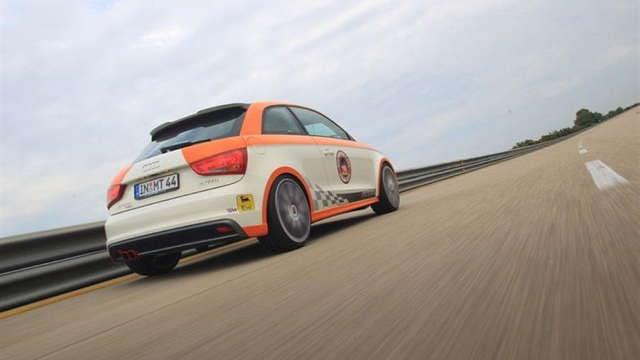 Tiny Audi A1 hits 201.324 MPH