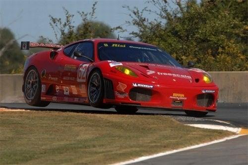 Ferrari F430 Lifts Legs At Road Atlanta