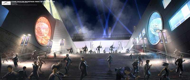 Iron Man 2 Concept Art Celebration