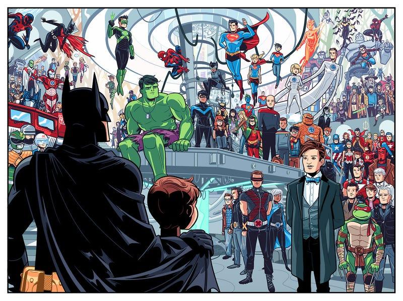 How Batman helped a cartoonist through a violent childhood trauma