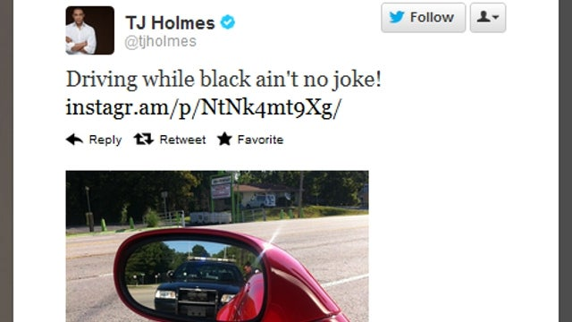 CNN's T.J. Holmes Stopped by Cops for 'Driving While Black'