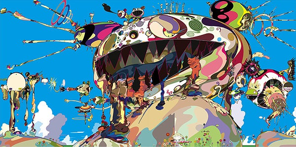 Murakami's Freaky, Posthuman Technicolor Visions Coming to New York