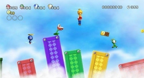 New Super Mario Bros. Wii Dated, Priced For Japan
