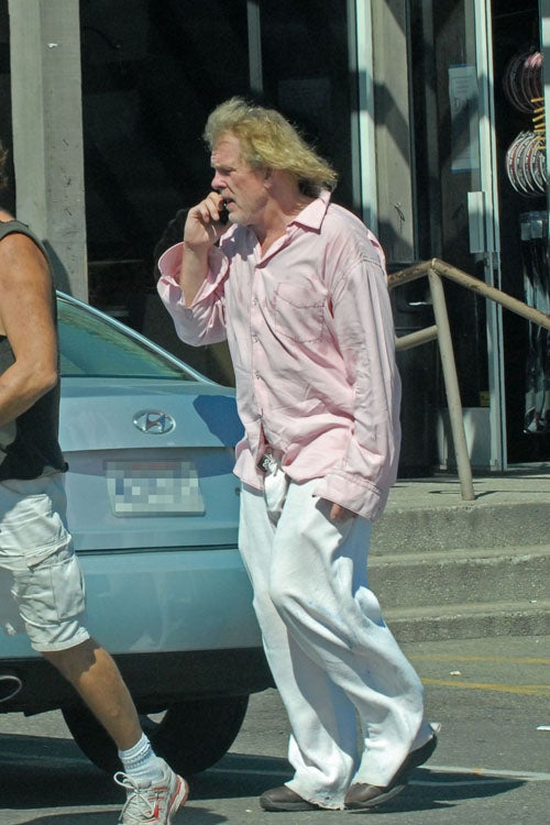 Nick Nolte's Hair Is On Fire