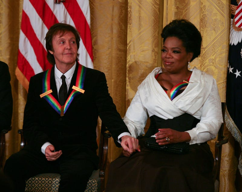 Paul Wants To Hold Oprah's Hand