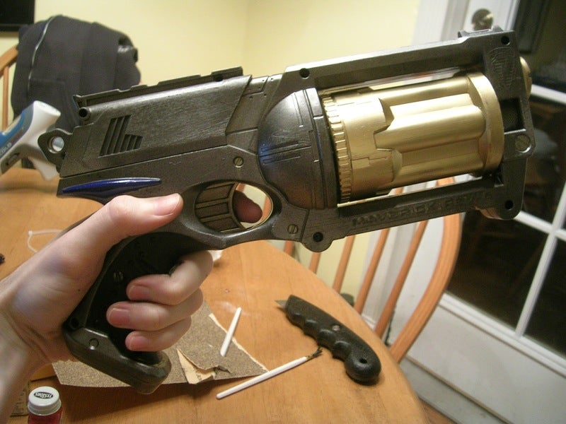 Steampunk NERF Weaponry