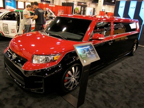 Ever Wonder What A Toyota Minivan Stretch Limo Looks Like?