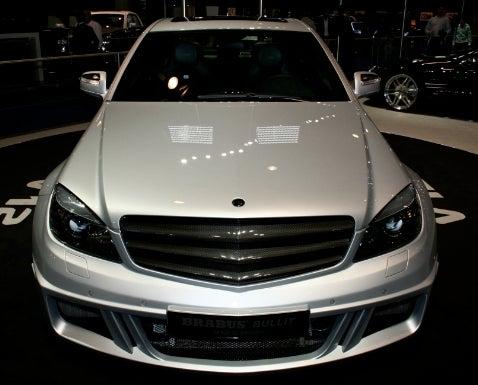 "Frankfurt Auto Show: Brabus ""Bullit"" V12 C-Class"