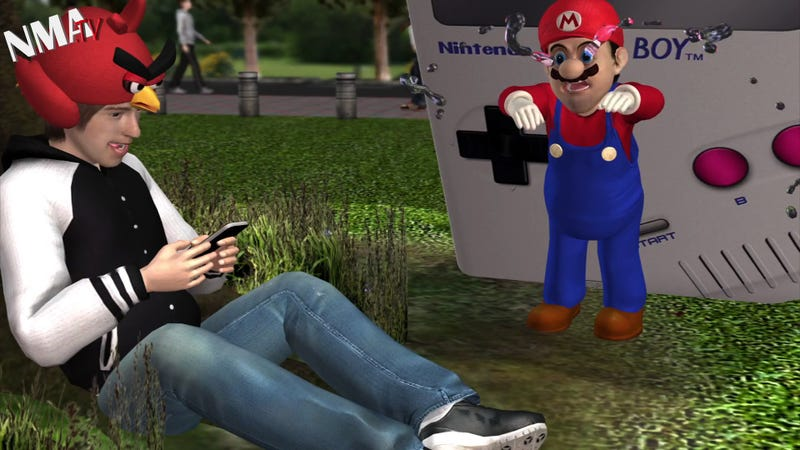 Watch a 3DS Make a Kid Puke and Other WTF Craziness in This Nintendo News Video