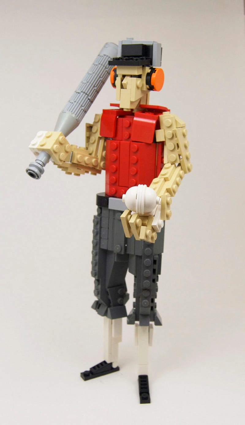 Lego Team Fortress 2 Scout