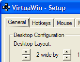 Multiply Your PC's Desktops with VirtuaWin