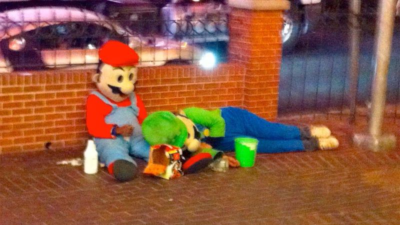 Rough Night, Mario? Luigi?