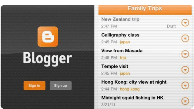 You Can Now Blog On Blogger Using Your iPhone
