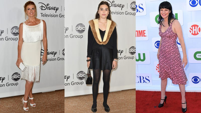 The Wardrobe Hits and Misses of Small-Screen Stars' Press Tour