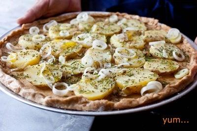Make a Healthier Homemade Pizza