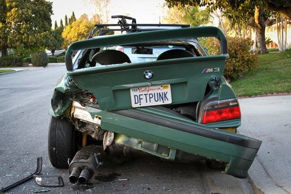 Some Daft Punk Crashed Into My M3